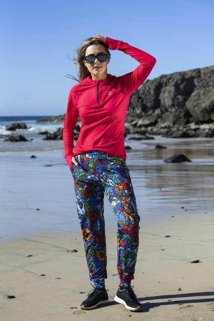 volné sportovní kalhoty mosaic flora sddc 11m4 1