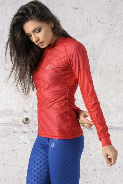 Běžecké tričko s dlouhým rukávem carbon KLC 04 1