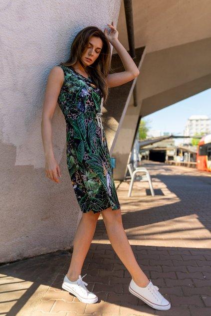 Bavlněné šaty OSBL 11T1 1