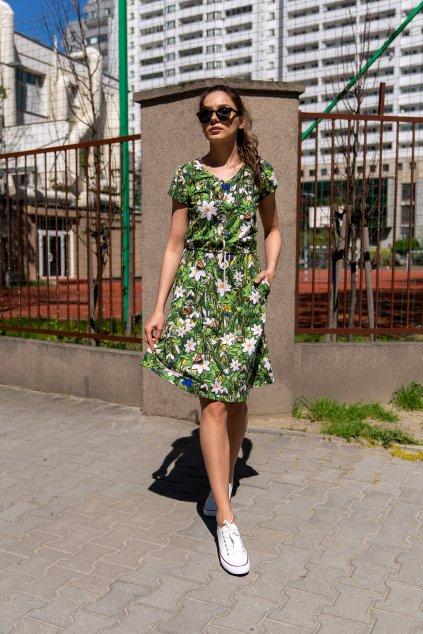 Bavlněné šaty OSRL 13W1 1