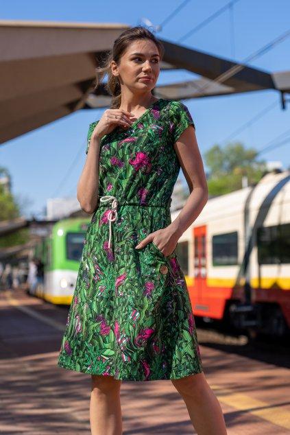 Bavlněné šaty OSRL 13L1 1