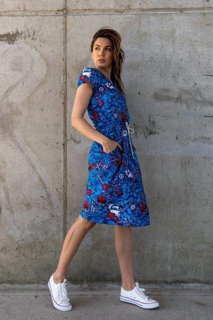 Bavlněné šaty OSRL 13F1 1