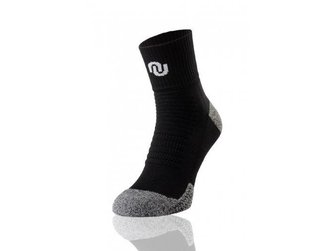 Termoaktivní ponožky ultrarun pro SU9 - Černo-šedá