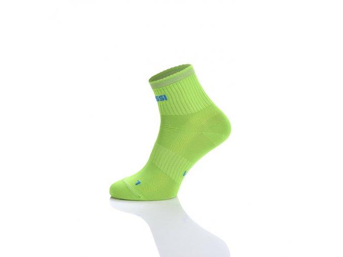 Prodyšné krátké ponožky RKK2 - Citronová