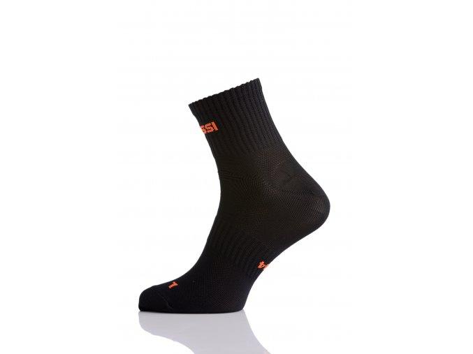 Prodyšné krátké ponožky RKK9 - Černá