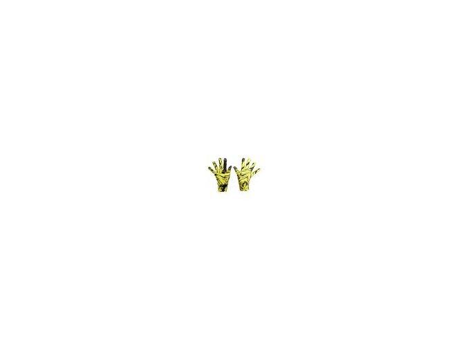 Běžecké rukavice PRO Warm AR-32 - Yellow crystals