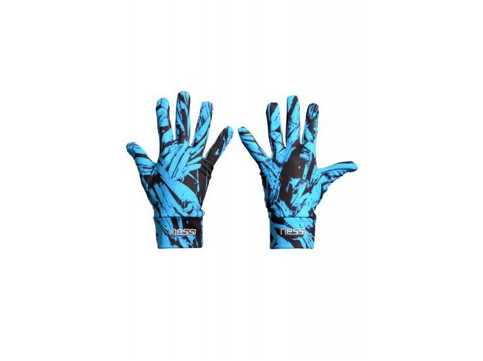 Běžecké rukavice PRO Warm AR-60 - Azura crystals