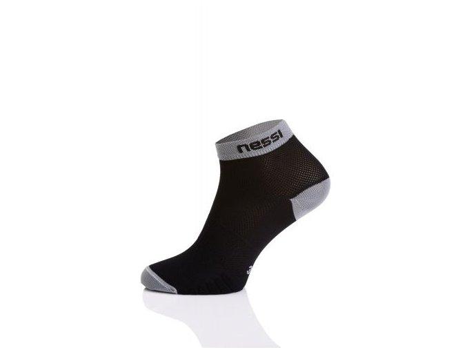 Běžecké ponožky RSN-10 - Černá+šedá