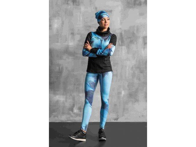 Termoaktivní mikina OBOD953 - Blue feather jeans