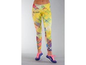 Běžecké/Fitness Legíny 01 - Multicolor