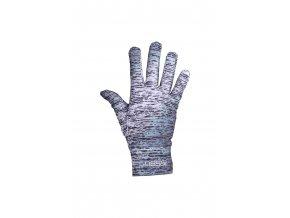 Běžecké rukavice PRO AR-801 - Silver Melange