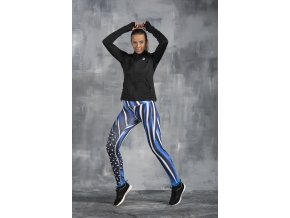 Běžecké/Fitness Legíny OSLK1050 - Numida Blue