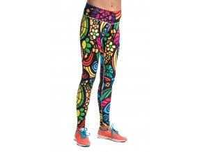 Běžecké/Fitness Legíny OSLK04L - Mosaic II