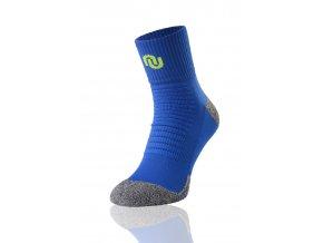 Termoaktivní ponožky ultrarun pro SU6 - Modro-šedá