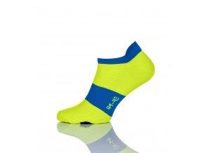 Běžecké kotníkové ponožky SRS-2 - Citronová