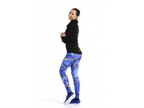 Dámské kalhoty PRO - Royal Blue Twig
