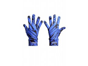 Běžecké rukavice PRO Warm AR-50 - Blue crystals