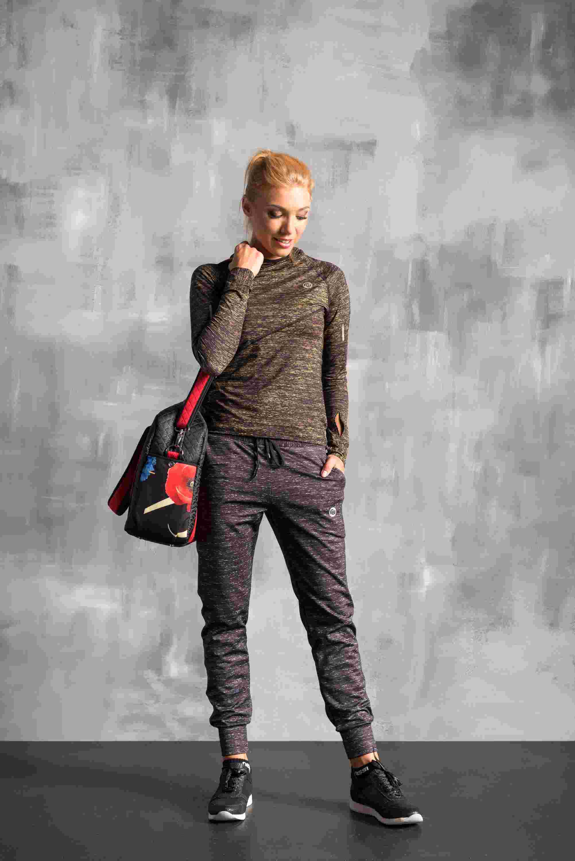 Nessi Volné sportovní kalhoty SDD902 - Grey Melange Velikost: S