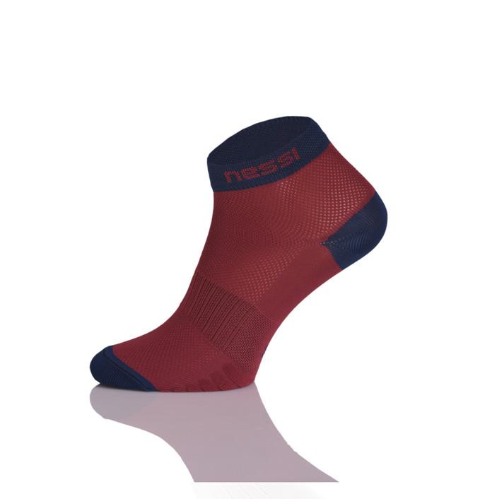 0bd8ce37401 Nessi Běžecké ponožky RSN-11 - Bordó Velikost  45-47