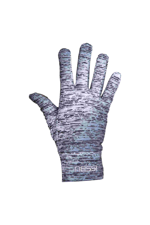 Nessi Běžecké rukavice PRO AR-801 - Silver Melange Velikost: L