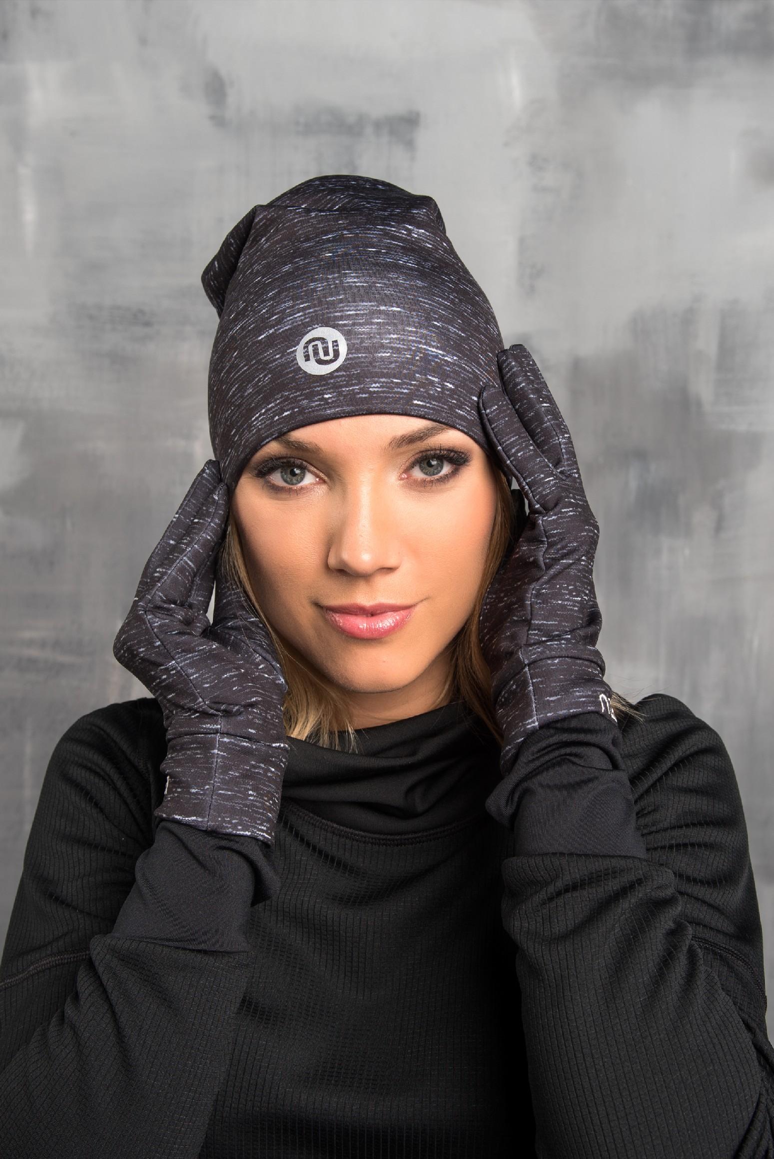 Nessi Běžecké rukavice PRO AR-901 - Grey Melange Velikost: L