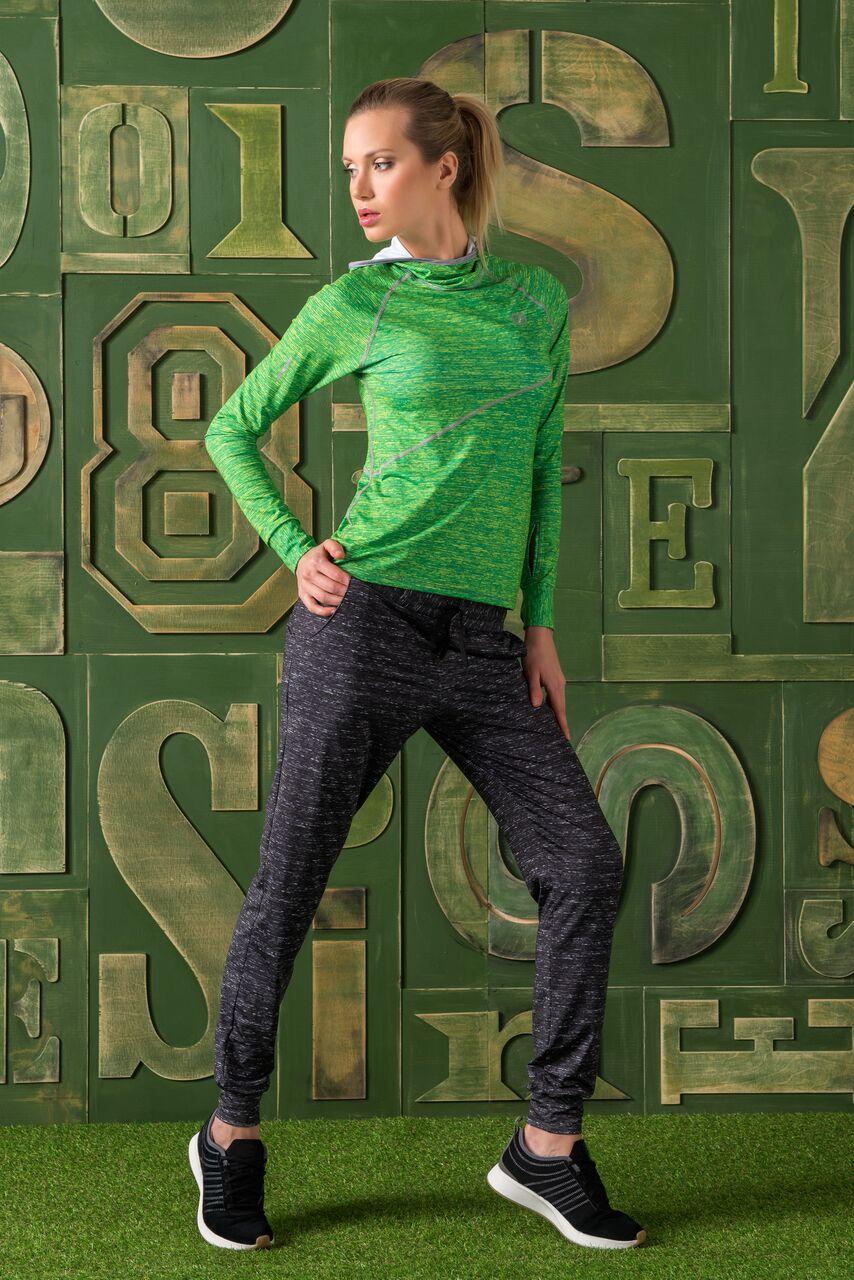 Nessi Volné sportovní kalhoty SDDC901 - Gray Melange Velikost: S
