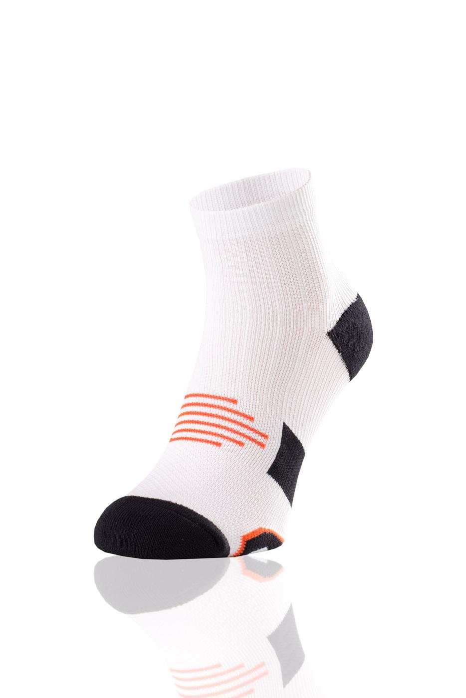 Nessi Bežecké Ponožky Maraton RMN-1 - Bílá Barva: Bílá, Velikost: 42-44