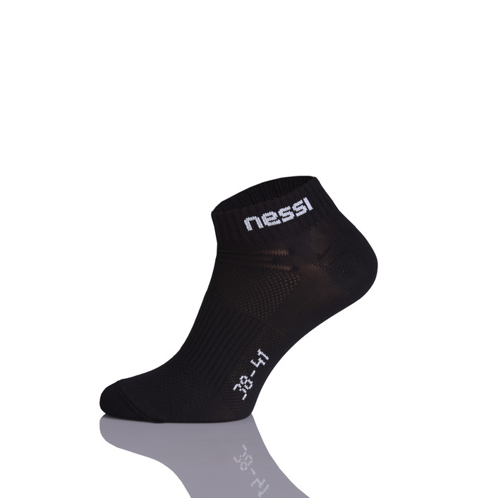 Levně Kotníkové ponožky STP-09 - Černá Velikost: 45-47