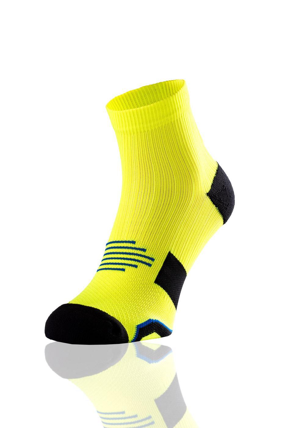 Nessi Bežecké Ponožky Maraton RMN-2 - Citronová Barva: citronová, Velikost: 42-44