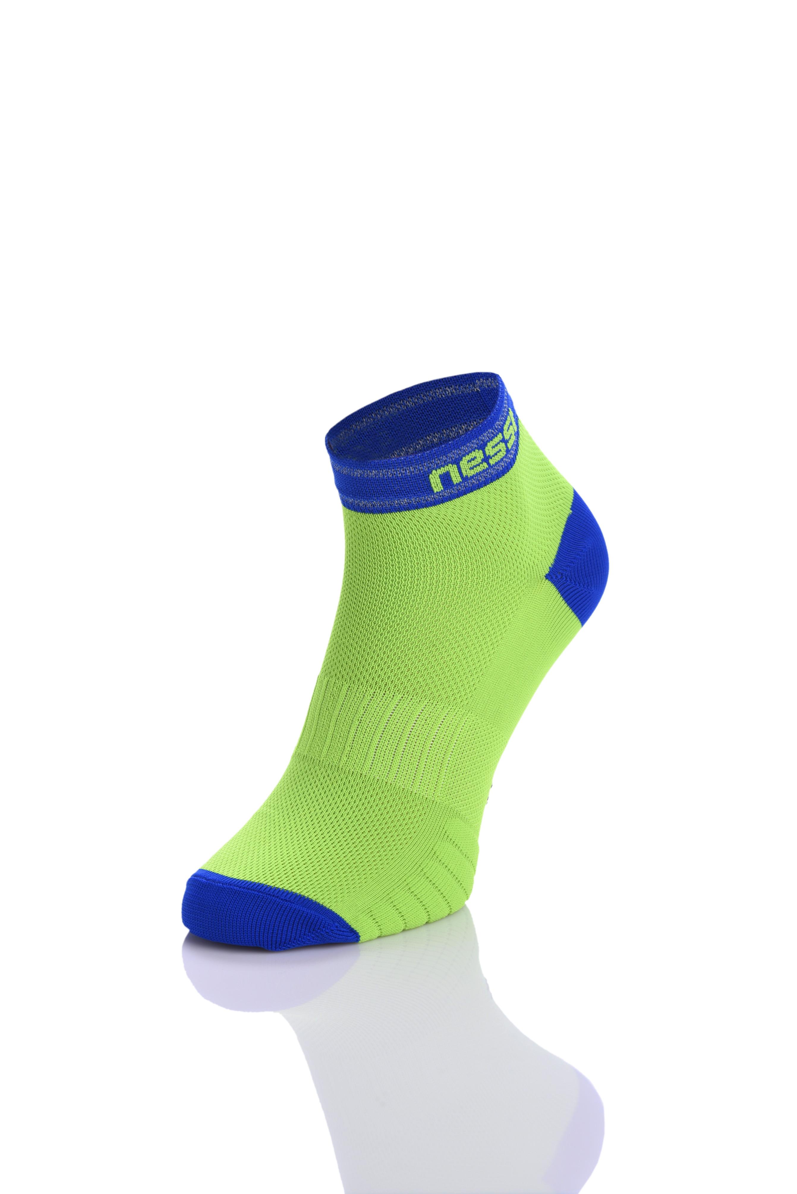 Levně Běžecké ponožky RSO-4 - Zelená Velikost: 45-47