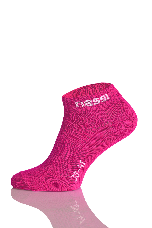 Levně Prodyšné kotníkové ponožky Road S STP-5 Pink Velikost: 35-37