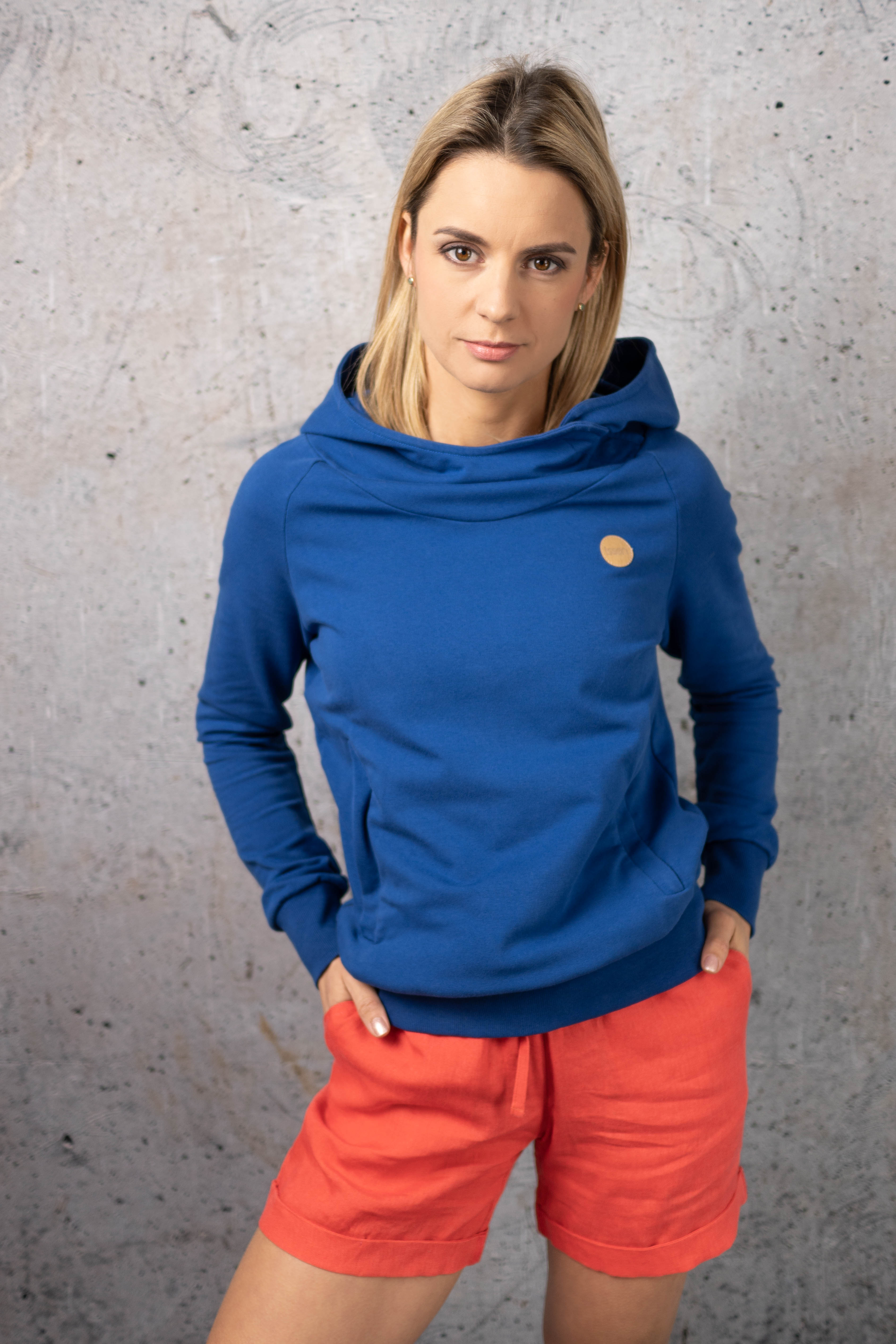 Nessi Mikina s kapucí Kayo OKYD-80 Blue Velikost: XL