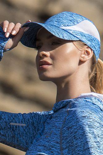 Nessi Letní běžecká kšiltovka ACDL501 - Blue Melange