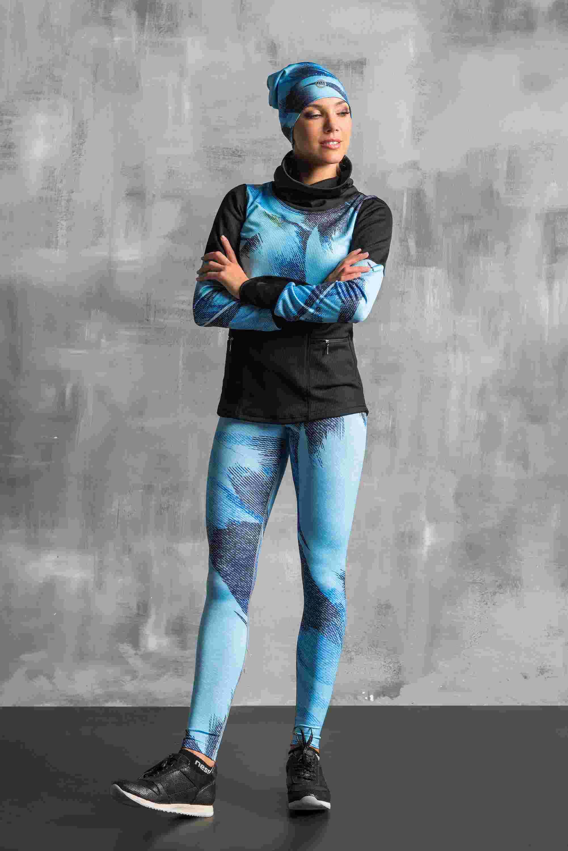 Nessi Termoaktivní mikina OBOD953 - Blue feather jeans Velikost: XS