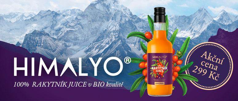 Himalyo Rakytník juice v BIO kvalitě za akční cenu 299 Kč!