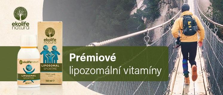 Ekolife Natura - prémiové lipozomální vitamíny