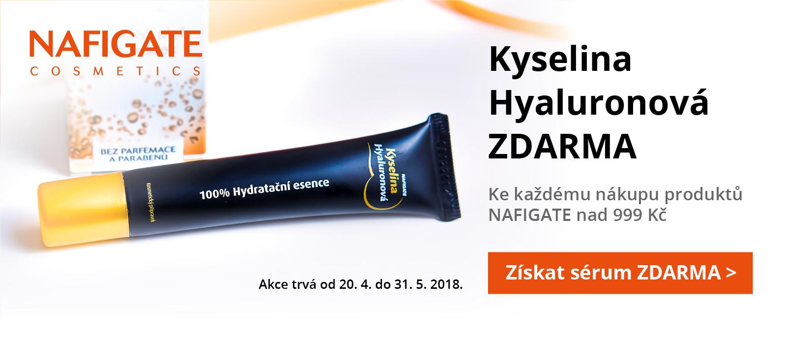 Kyselina Hyaluronová gel 20 ml v hodnotě 549 Kč ZDARMA ke každému mákupu produktů značky Nafigate nad 999 Kč