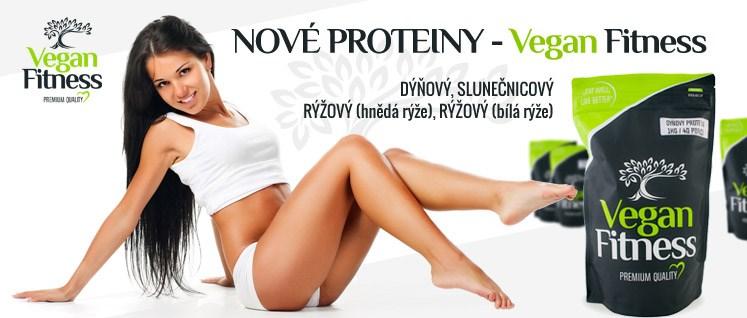 Vegan Fitness - nové proteiny
