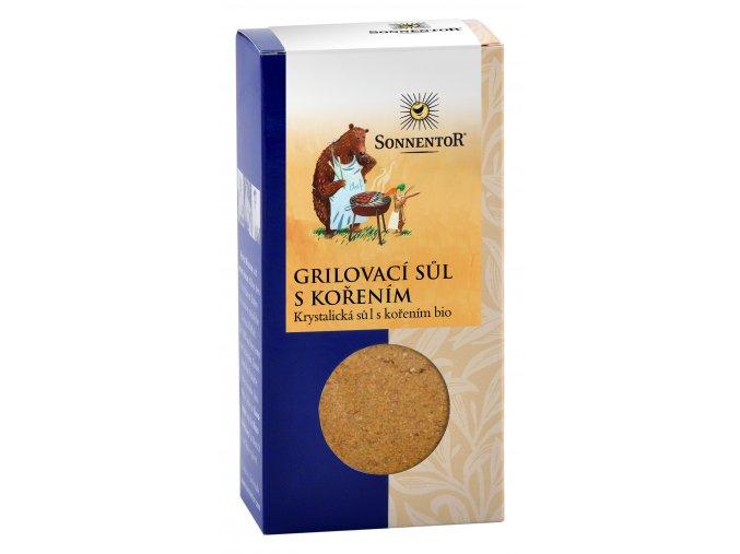 Bio Grilovací sůl s kořením mletá 100g