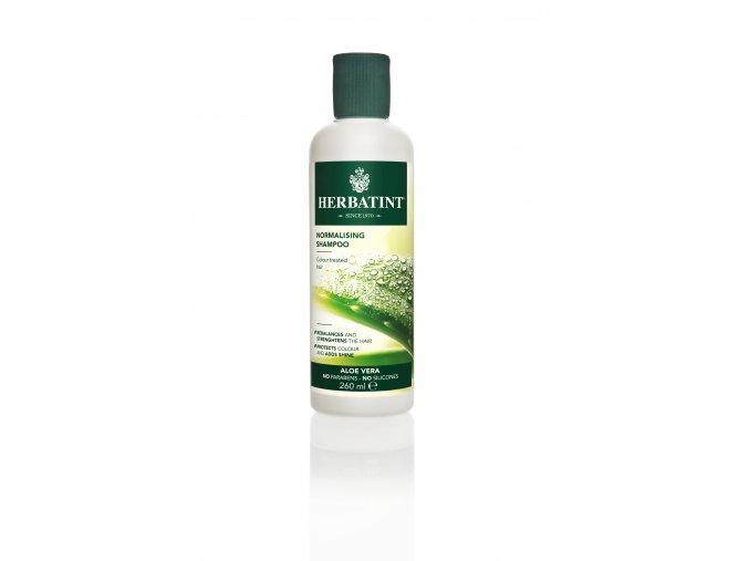 Normalising shampoo