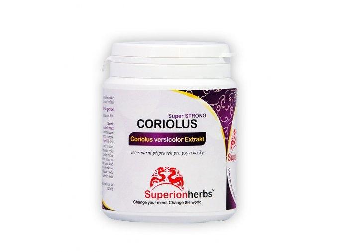 Superionherbs Coriolus versicolor Extrakt 90 kapslí