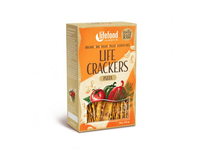Bio Life crackers á la pizza 70g