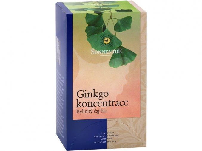 Bio Ginkgo koncentrace porcovaný dárkový 20g