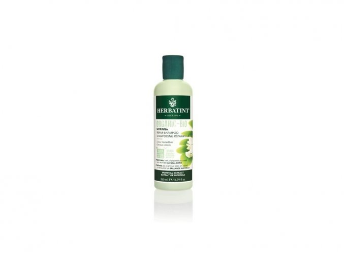 HERBATINT Moringa Repair Shampoo - bio šampon na barvené vlasy 260 ml