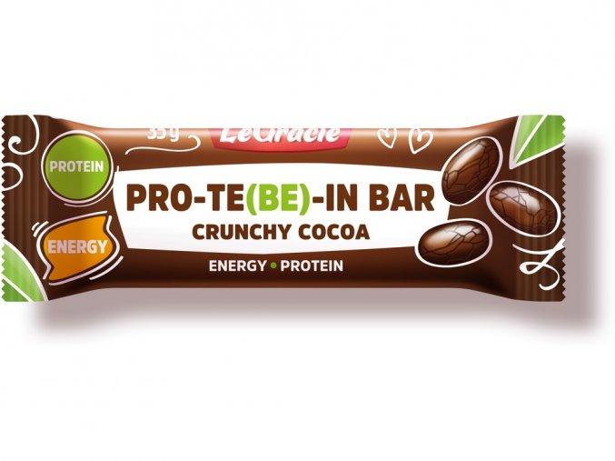 Tyčinka čokoládová s dýňovým proteinem CRUNCHY 35g, min. trv. 10.9.2019