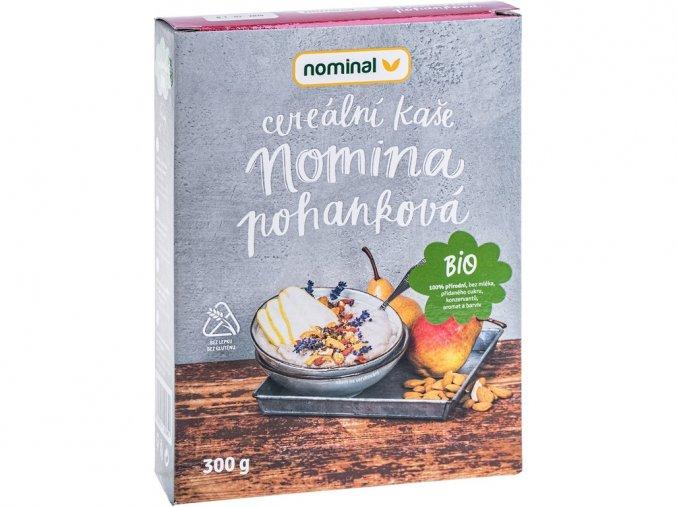 Bio cereální kaše pohanková NOMINA 300g, min.trv. 5.3.2019