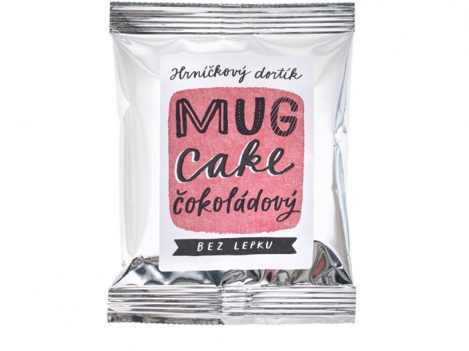 Hrníčkový dortík MUG CAKE čokoládový 60g, min.trv. 29.5.2019