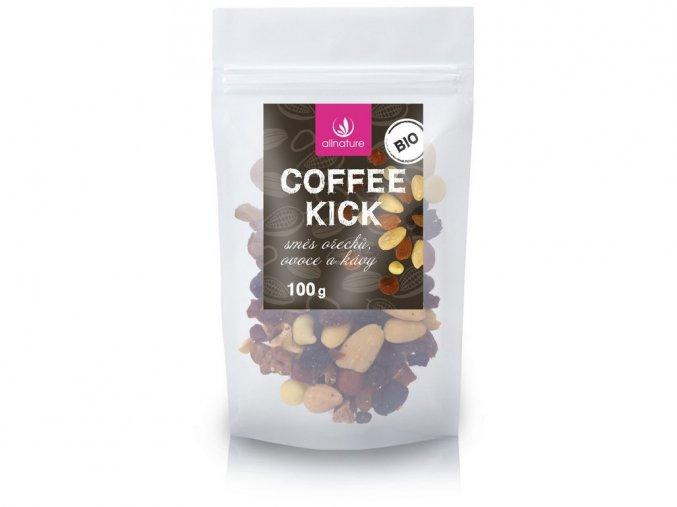 Bio Coffee kick směs ořechů, ovoce a kávy 100g