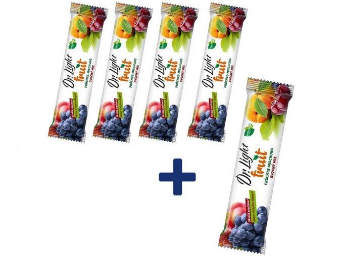 AKCE - Tyčinka ovocná Dr.Light Fruit Ovocný mix 30g 4+1 ZDARMA