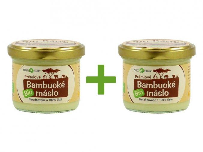 Bio Prémiové Bambucké máslo 200ml AKCE 1+1